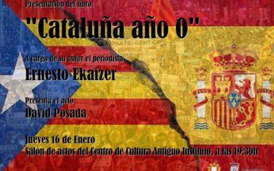 """Presentación del llibru """"Cataluña año 0"""""""