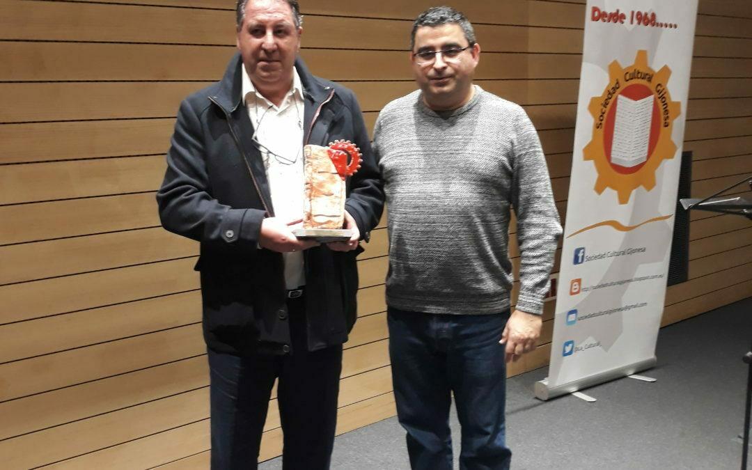 Premio Juan Ángel Rubio Ballesteros 2019entregado a la Asociación Asturiana de solidaridad con el pueblo saharaui