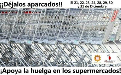 En apoyo y solidaridad con la huelga en los supermercados de Asturias