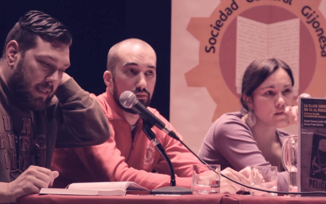 """Presentacion del libro """"La clase obrera no va al paraíso"""""""