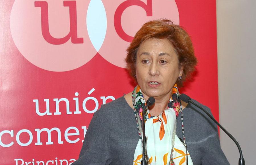 Carmen Moreno, de la Unión de comerciantes de Asturias