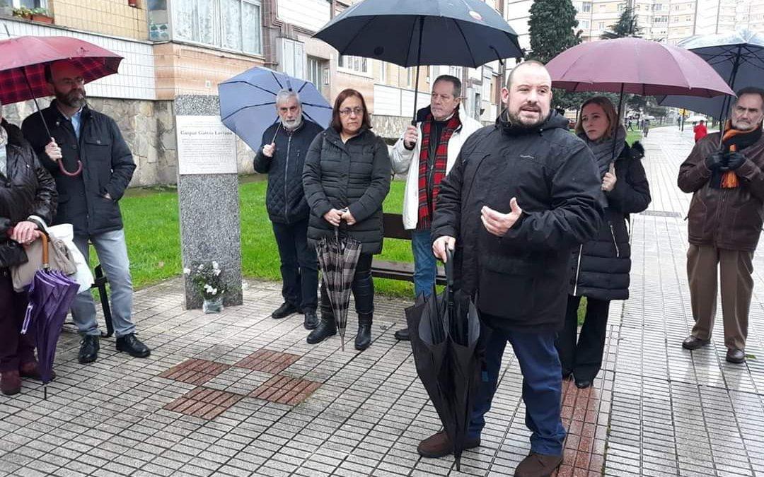 Discurso en el aniversario de Gaspar García Laviana