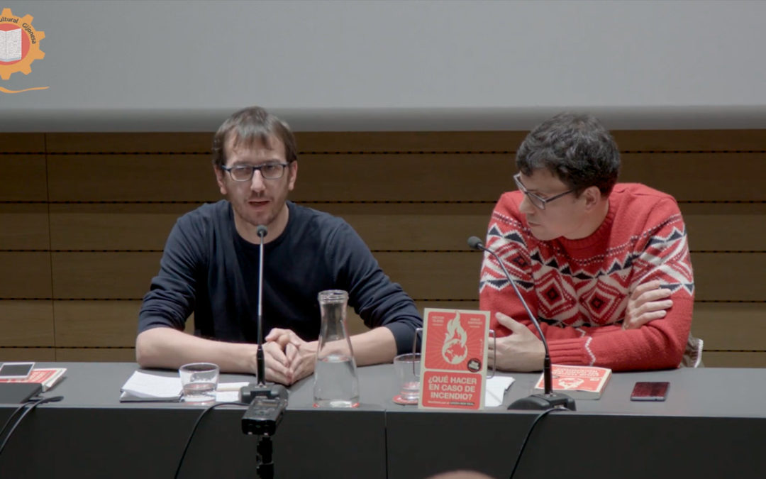 Presentación del llibru '¿Qué hacer en caso de Incendio? d'Héctor Tejero