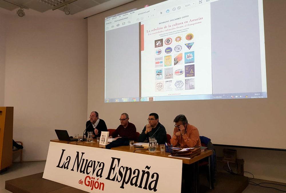 Presentación del libro la Rebelión de la cultura en Asturias