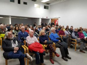 Público asistente a la presentación del libro La Rebelión de la cultura en Asturias