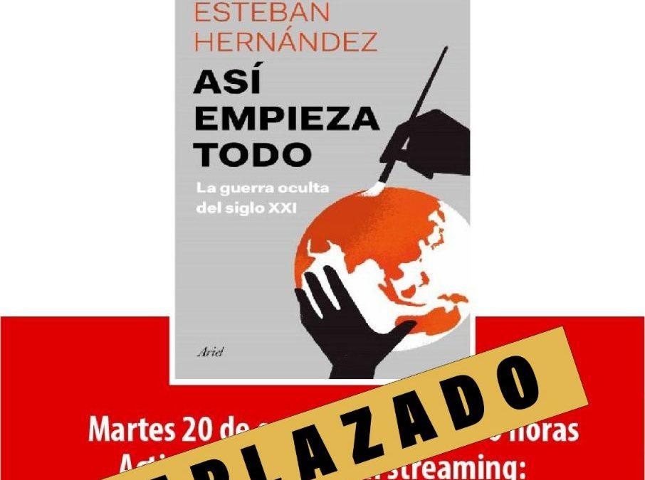 Aplazamiento Esteban Hernández